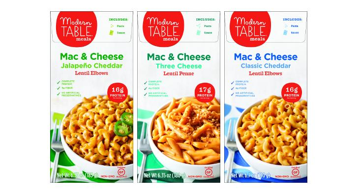 After Reformulating Its Line Of Protein Packed Pastaeal Kits Modern Table Meals Based In Walnut Creek Calif Has Made Debut The Macaroni