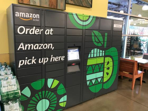 b0d5cd840 Since Amazon took control of Whole Foods in late August 2017, micro-visits  to stores with Amazon Lockers have risen 11 percent versus a 7 percent  increase ...