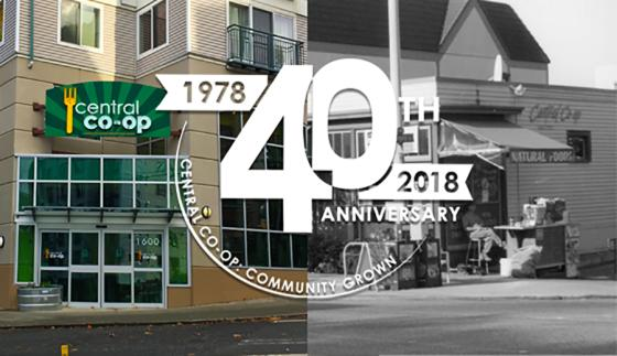 Central Co-op Celebrates 40th Birthday Seattle Tacoma