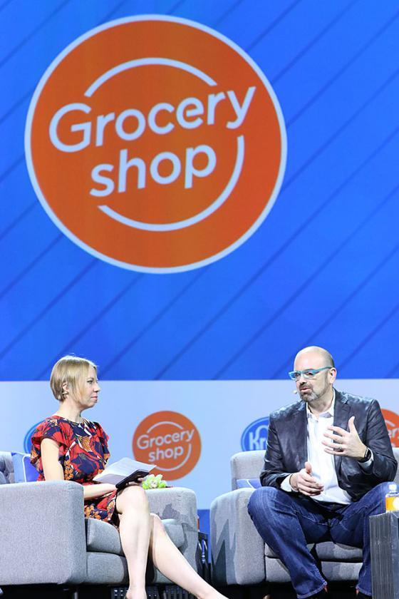 Kroger's Yael Cosset Shares Top Goal Behind its Latest Partnerships grocery technology grocery ecommerce
