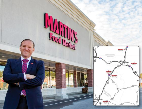 Giant Food Stores to Acquire 5 Shop 'N Save Locations Martin's Food Markets