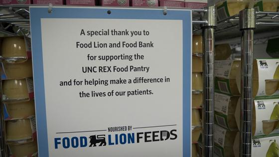 Food Lion Helps Open Food Pantry in Community Hospital