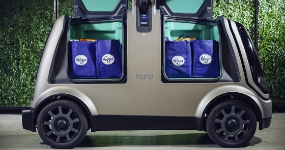 Kroger, Nuro Officially Roll Out Autonomous Grocery Delivery in Houston