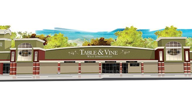 Big Y Table & Vine